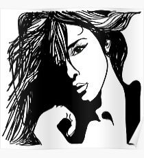 Beauty girl Poster