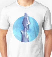 Torn by the blue sky  Unisex T-Shirt