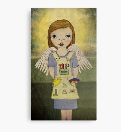 Industrial Angel Canvas Print