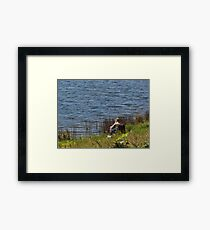 Now this is relaxation at its best Framed Print