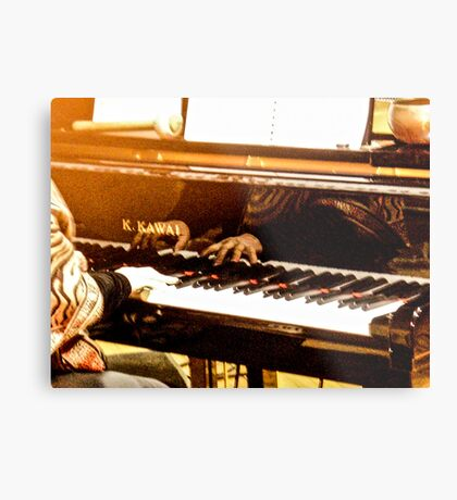 Hands That Play The Piano Metal Print