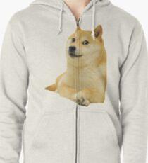 Doge - Meme Zipped Hoodie