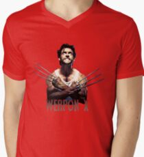 Wolverine - Weapon X Mens V-Neck T-Shirt