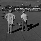 Lawn Bowls by Gavin Kerslake