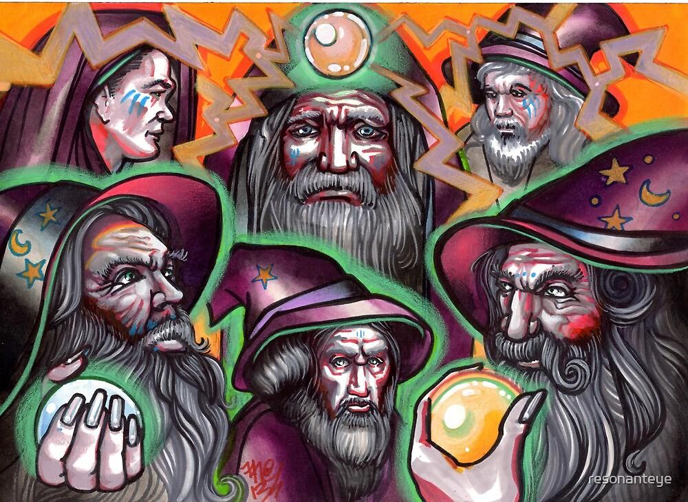 electric wizards by resonanteye
