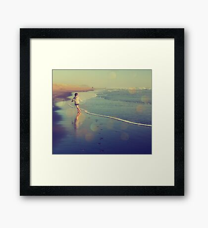 Carefree Dreams Framed Print