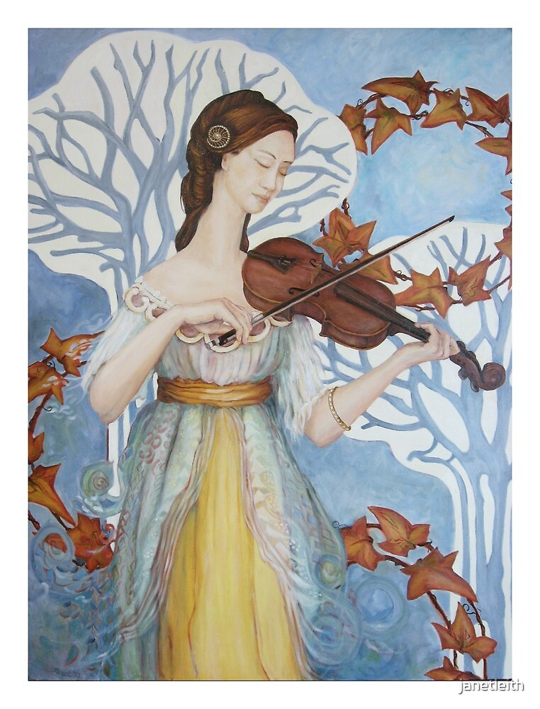 The Lady & the Violin, 2011-13 by janetleith