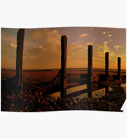 Solway Firth Sunset Poster