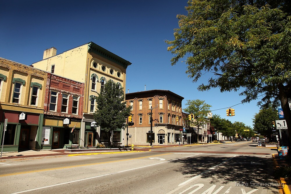 Greenville Michigan by Mike Sonnenberg