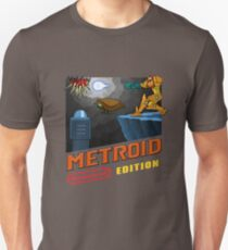 Metroid Remastered (Cover Art) T-Shirt