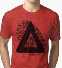 Bastille Fingerprint Tri-blend T-Shirt