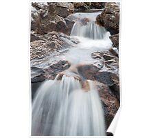 Rannoch Waterfall Poster