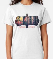 The Woods at Sunset Classic T-Shirt