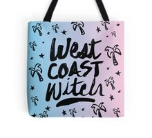 West Coast Witch Tumblr Soft Grunge Pastel Typography 90s Print Tote Bag
