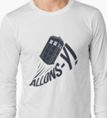 """""""Allons-y !"""" - The Doctor T-Shirt"""
