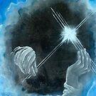 Nathaniel Anthony Ayers - Hands of God by Pamela  Senzee