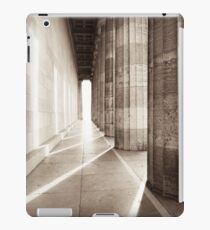 walhalla colonnade iPad Case/Skin