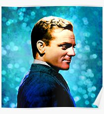 James Cagney, blue screen Poster