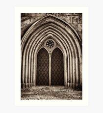 Neo Gothic Crypt Art Print