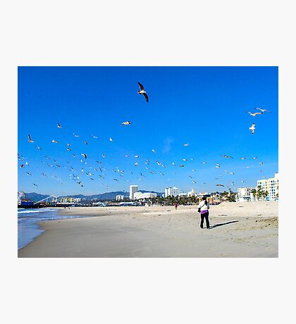 The Sounds Of The Fruit Lady Get Lost In The Cry Of The Birds... Photographic Print
