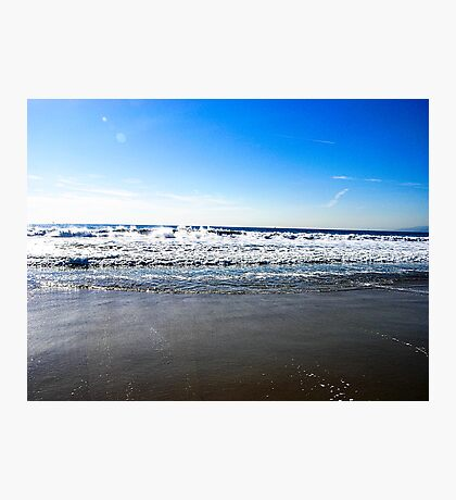 Beautiful Day At The Beach Photographic Print