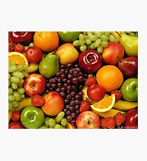 Fruit Basket Photographic Print
