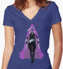Celaena Sardothien | The Assassin's Blade Women's Fitted V-Neck T-Shirt