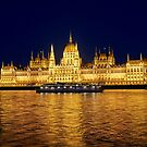Hungarian parliament building, Budapest by Colin White