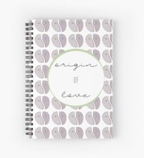 Origin of Love Spiral Notebook
