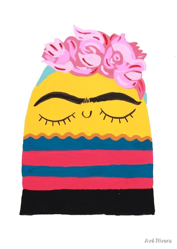 Frida Blob by Avé Rivera