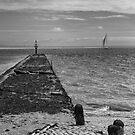 Ship to shore..... by John Callaway