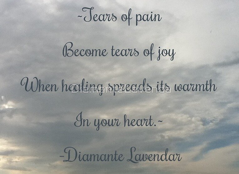 Tears by Diamante Lavendar by DiamanteLavenda