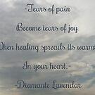 Tears by Diamante Lavendar by DiamanteLavenda