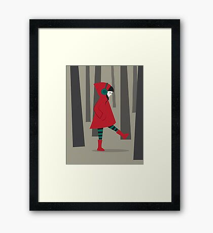 There is No Wolf Framed Print