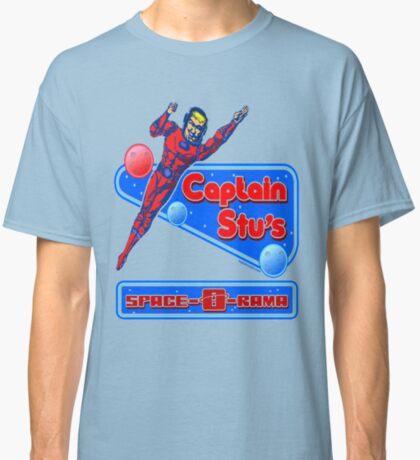 Captain Stu Space-O-Rama Classic T-Shirt