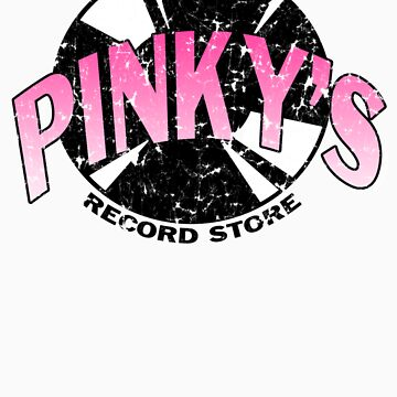 Pinkys Record Store by kaptainmyke