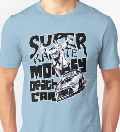Super Karate Monkey Death Car T-Shirt