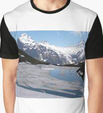 Bachalpesee with Fiescherhornen in the background, Switzerland Graphic T-Shirt