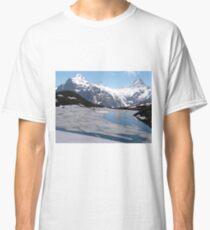 Bachalpesee with Fiescherhornen in the background, Switzerland Classic T-Shirt