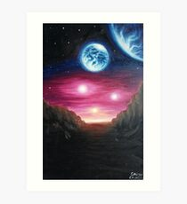 Gliese 667Cc exoplanet Art Print