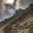 Hoher Burgstall (2.611m) by Stefan Trenker