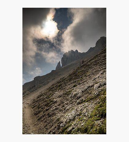 Hoher Burgstall (2.611m) Photographic Print
