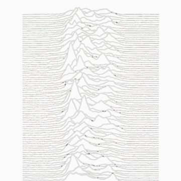 Joy Division - Unknown Pleasures (Japanese Tee) by loupdemer