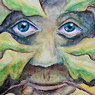 Oak Green Man  by Lee Twigger
