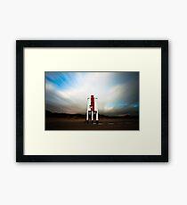 Burnham. Framed Print