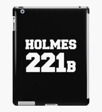 Sherlock - Team Holmes (white text) iPad Case/Skin