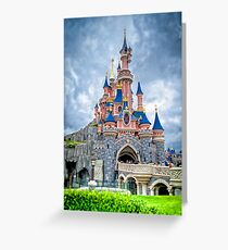 Sleeping Beauty's Castle Greeting Card