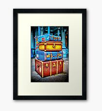Travelling Framed Print