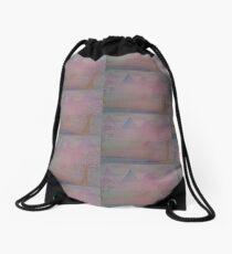 Have Faith by Diamante Lavendar Drawstring Bag