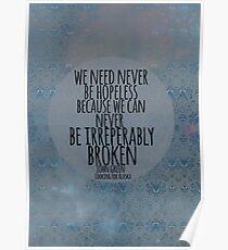 Never Be Hopeless Poster